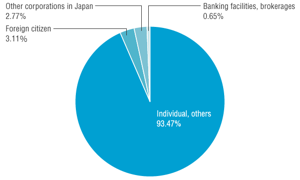 Shareholder Distribution by Type